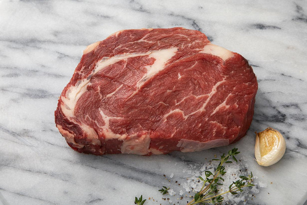 Scotch Beef Thick Ribeye Steak raw