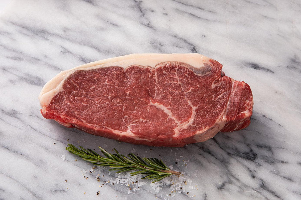 Scotch Beef Sirloin Steak raw