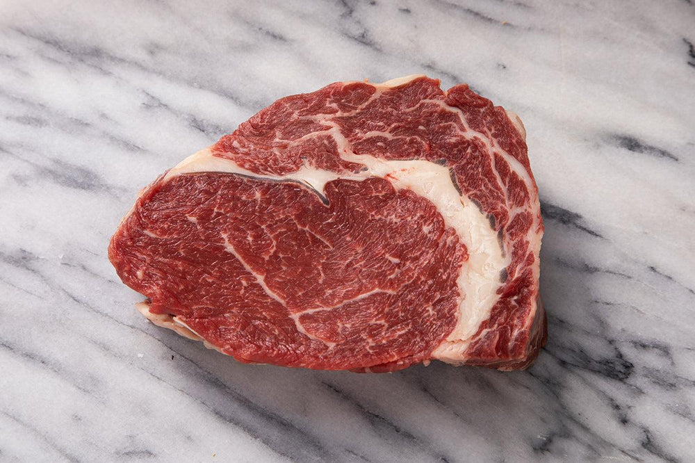ribeye steak raw