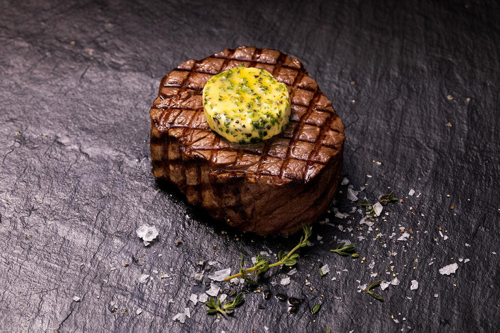 Twin pack Scotch Beef Fillet Steaks  cooked