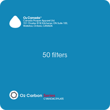O2 Carbon Filter - Specifically designed for cyanoacrylate (lash glue)