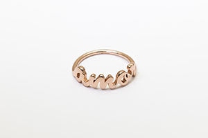 Amor Ring Rose Gold