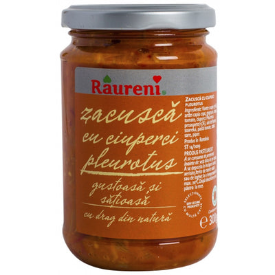 Raureni Zacusca with Mushrooms - 300 g