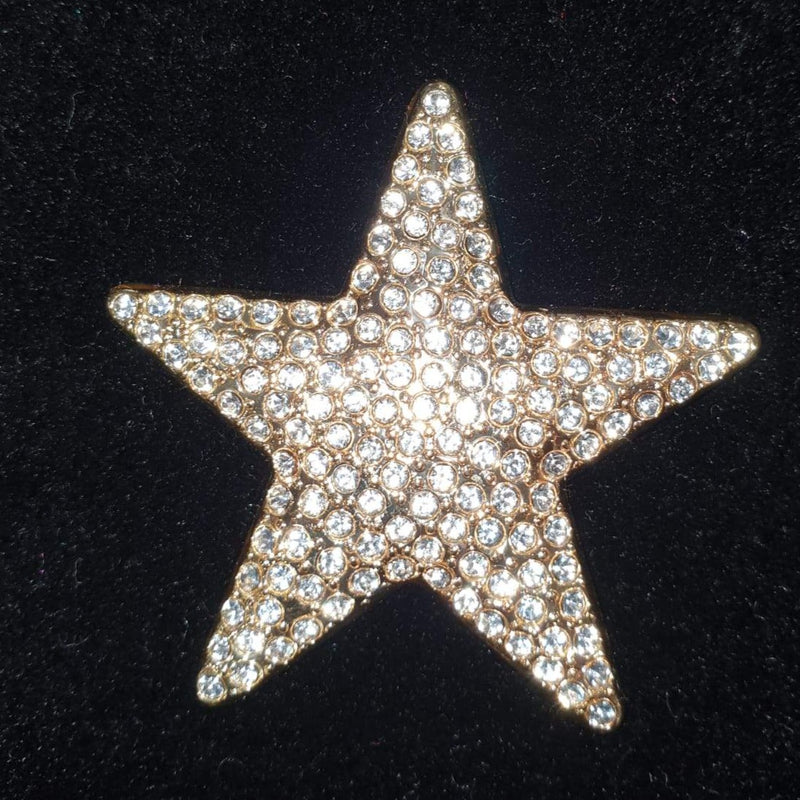 SR-BROCHE3 SMALL STAR GOLD