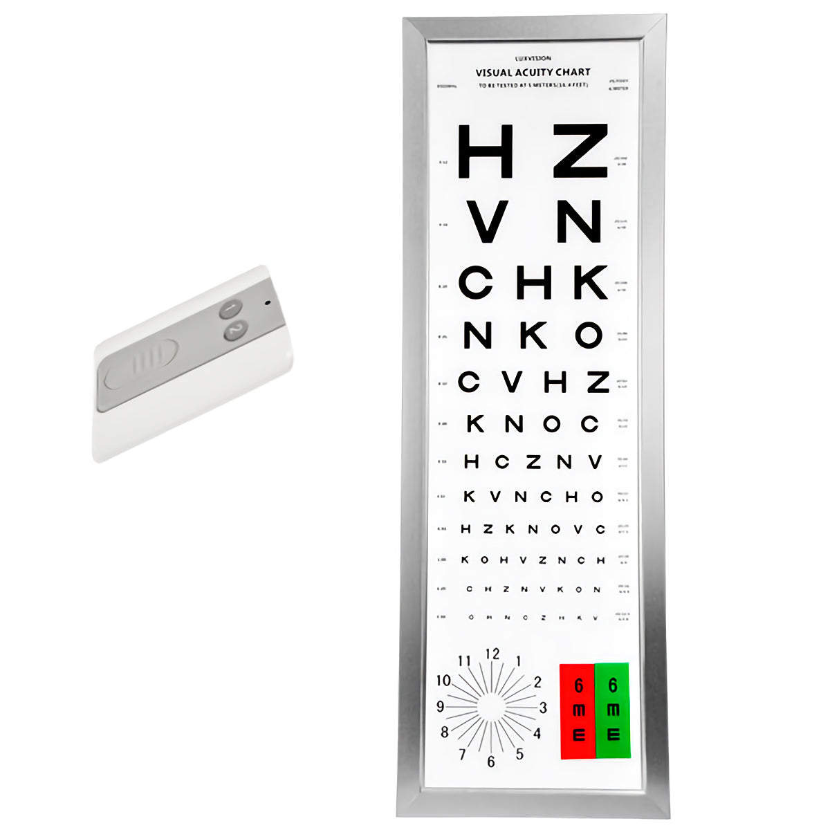 visual acuity chart cp-5000 luxvision - us ophthalmic
