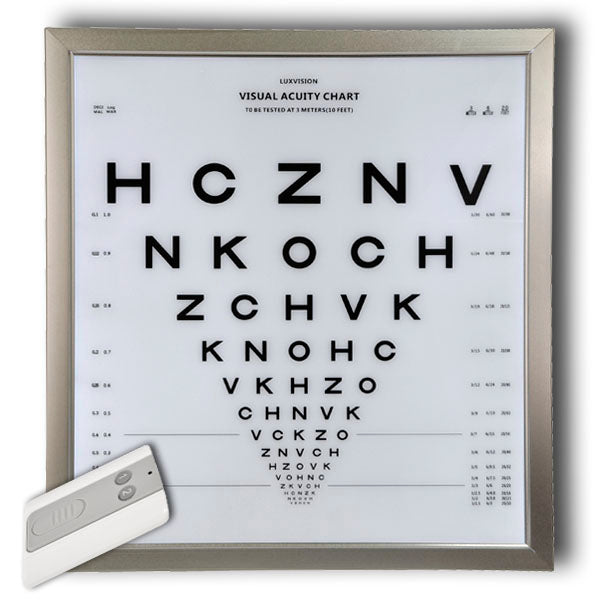 visual acuity chart cp-4000 luxvision - us ophthalmic