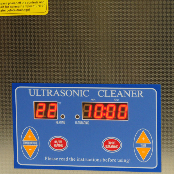 ultrasonic cleaner ucs-3000h luxvision - us ophthalmic