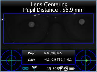 lens centering on frames application adaptica - us ophthalmic
