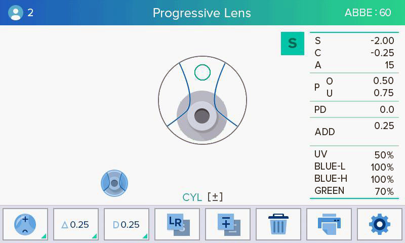 digital lensmeter lm-7800 luxvision - us ophthalmic