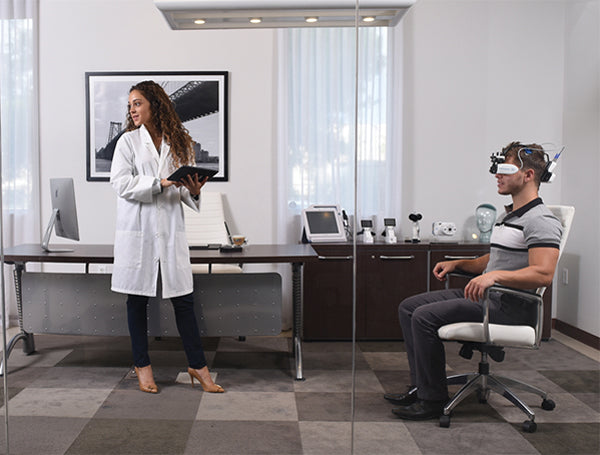 wireless adaptive refractor visionfit adaptica - us ophthalmic