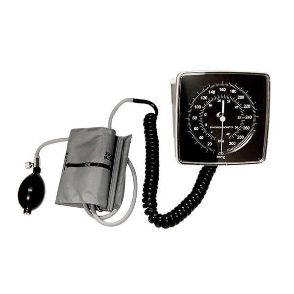 Wall Mount Sphygmomanometers with Adult cuff