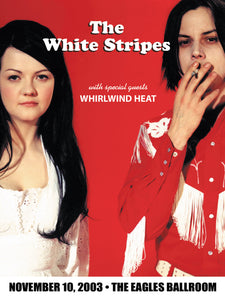 THE WHITE STRIPES 11/10/2003 Concert Canvas