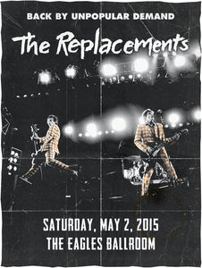 THE REPLACEMENTS 5/2/2015 Concert Canvas
