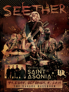SEETHER 10/9/2015 Concert Canvas