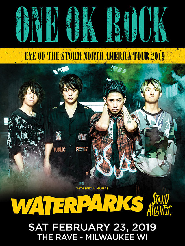ONE OK ROCK 2/23/2019 Concert Canvas