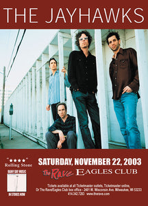 THE JAYHAWKS 11/22/2003 Concert Poster