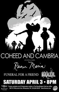 COHEED AND CAMBRIA 4/3/2004 Concert Poster