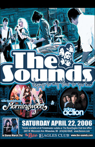 THE SOUNDS 4/22/2006 Concert Poster