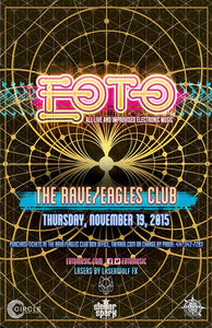 EOTO 11/19/2015 Concert Poster