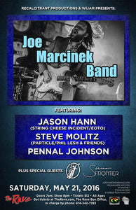 JOE MARCINEK BAND 5/21/2016 Concert Poster