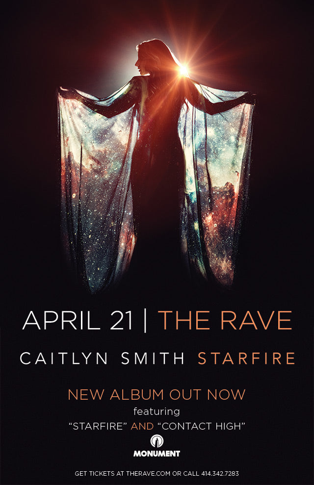 CAITLYN SMITH 4/21/2018 Concert Poster
