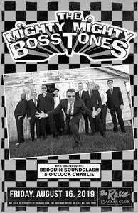 THE MIGHTY MIGHTY BOSSTONES 8/16/2019 Concert Poster