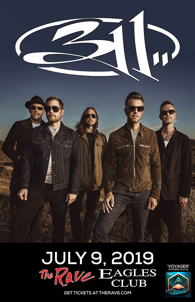311 7/9/2019 Concert Poster