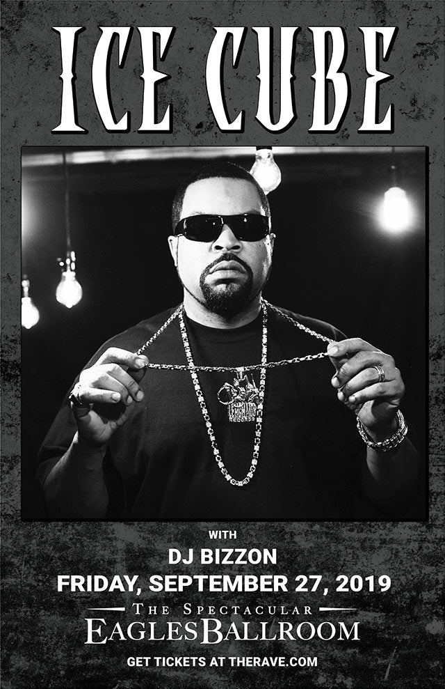 ICE CUBE 9/27/2019 Concert Poster