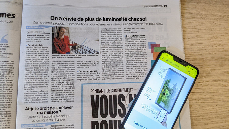 Cumulux Home in le Parisien