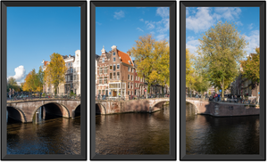 "3 vertical window ""Amsterdam"""