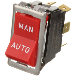 42-1050-RSG - Blodgett - Rocker Switch Man/Auto Red, 10A/15A, 250V, DPDT