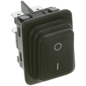 42-1516-RSG - Roundup - Rocker Switch Black On/Off 10A/16A 250V SPST