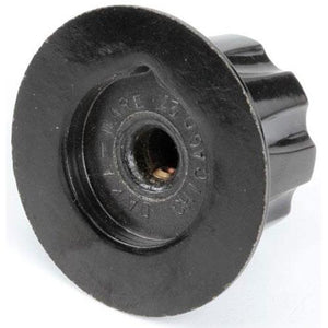 "800-2551-RSG - Bevles - Knob 1-1/4"" Black With Pointer"
