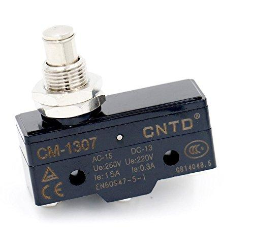 CM-1307 Switch Door Plunger 15A 220/250V