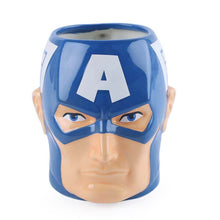 Load image into Gallery viewer, Captain America 3D Mug