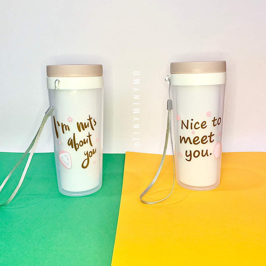 Quote Travel Tumbler