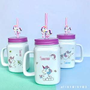 Unicorn Mason Sipper