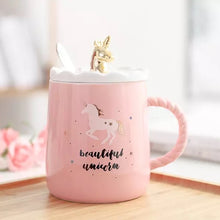 Load image into Gallery viewer, Magical Unicorn Ceramic Mug
