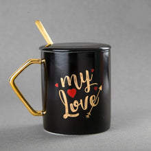 Load image into Gallery viewer, Love Mug with Lid & Spoon