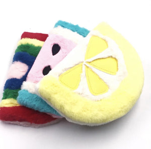 Lemon Plush Notebook - TinyMinyMo