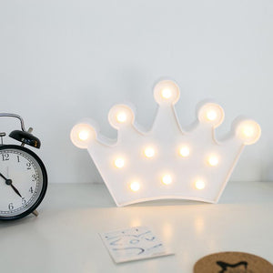 Crown Marquee Light - TinyMinyMo