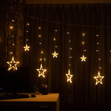 Load image into Gallery viewer, Star LED Curtain Light