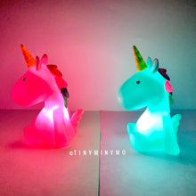 Load image into Gallery viewer, Mini Unicorn Lamp