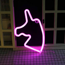 Load image into Gallery viewer, Unicorn Neon Light