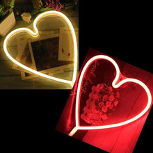 Load image into Gallery viewer, Heart Neon Light