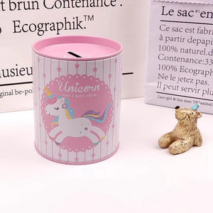Unicorn Piggy Bank - TinyMinyMo