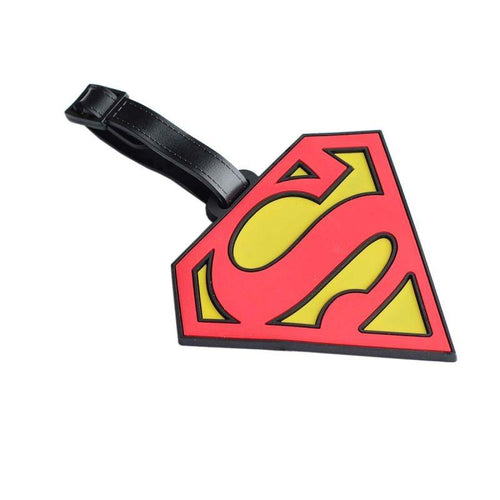 Superman Luggage Tag - TinyMinyMo