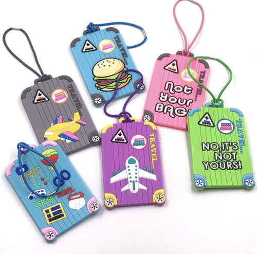 Silicone Luggage Tags - TinyMinyMo
