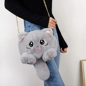 Fur Kitty Sling and Backpack - TinyMinyMo