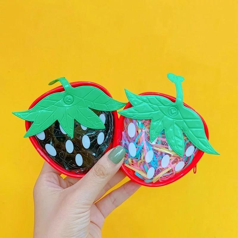 Mini Strawberry Pouch - TinyMinyMo
